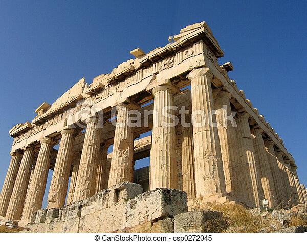 Akropolis, Athens - csp0272045