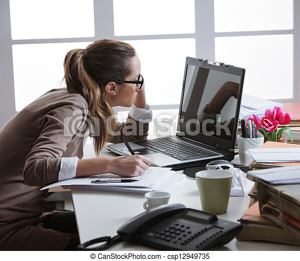Hart Arbeitende Frauen