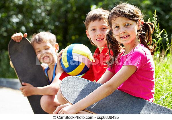 aktivál, gyerekek - csp6808435