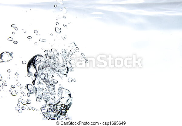aktive, wasser, hintergrund - csp1695649