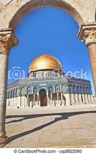 al aqsa Mosque in Jerusalem - csp8822060