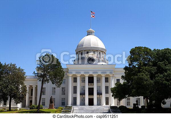 Alabama State Capitol Building - csp9511251