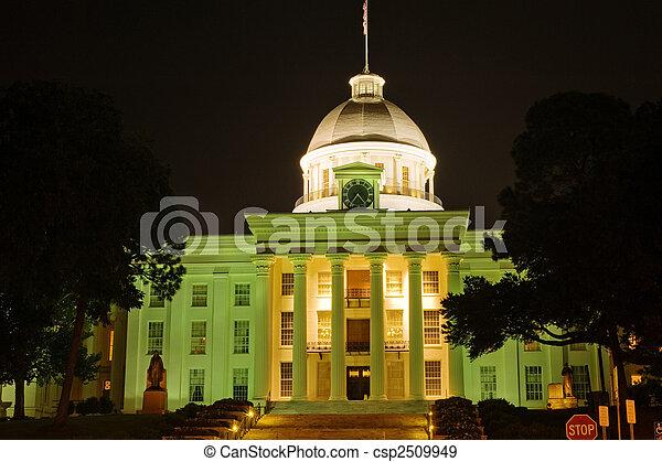 Alabama state capitol - csp2509949
