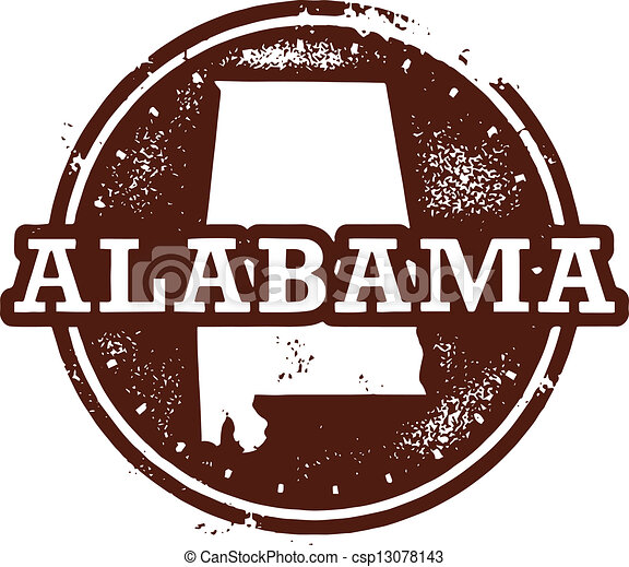 Alabama State Stamp - csp13078143