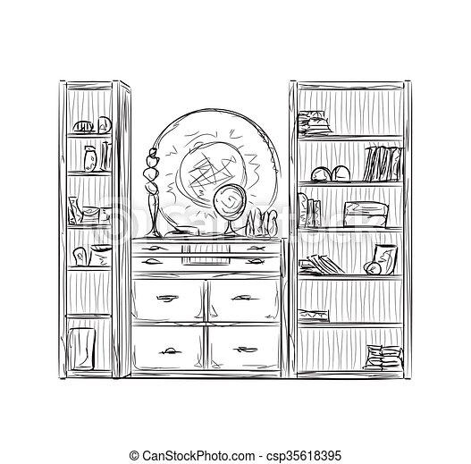 Dibujos De Muebles De Cocina. Interior Furniture Cocina With Dibujos ...