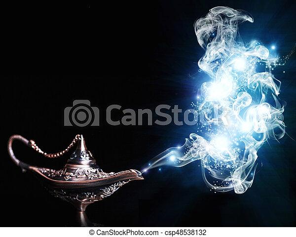 Aladdin Magic Lamp   Csp48538132