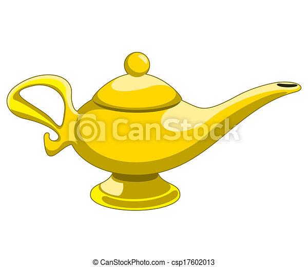 aladdin's lamp - csp17602013