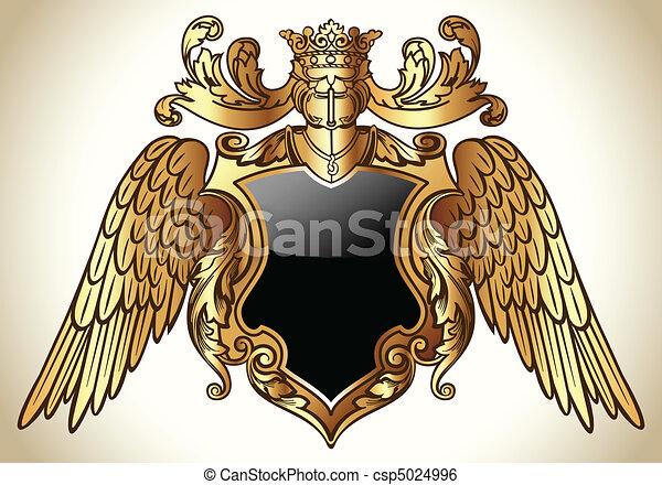 Oro emblemático alado - csp5024996
