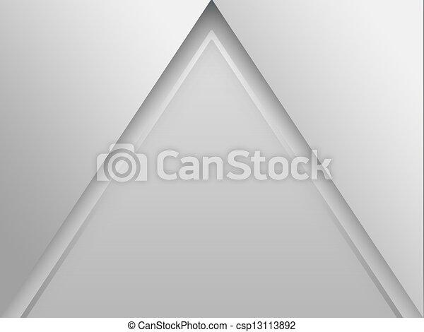 alakzat, háromszög, elvont, (pyramid), háttér - csp13113892