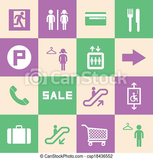 Centro comercial - csp18436552