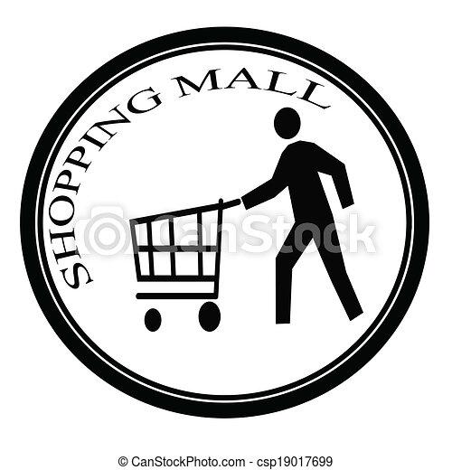 Centro comercial - csp19017699