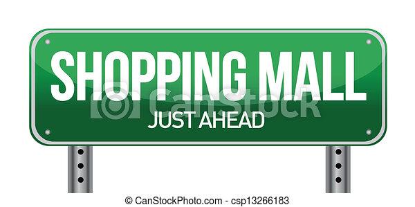 La señal del centro comercial - csp13266183
