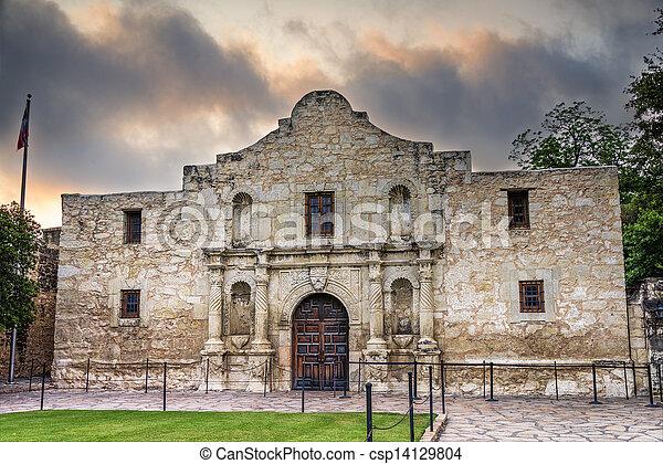 El Álamo, Asn Antonio, TX - csp14129804