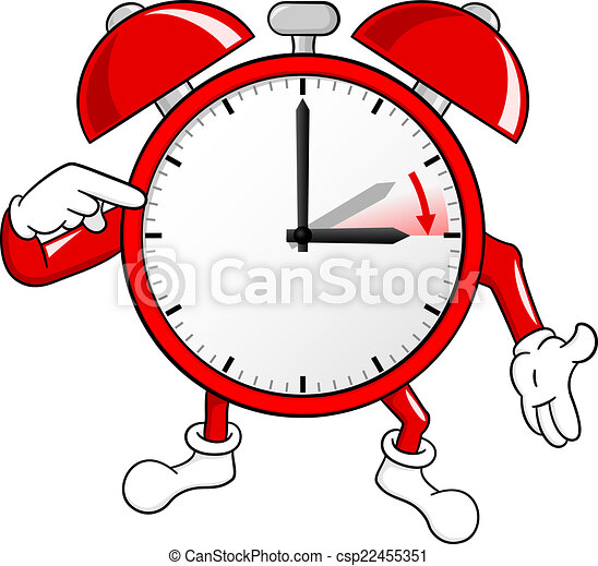 alarm clock change to daylight saving time vector clipart vector rh canstockphoto com time change clipart 2017 time change 2016 clipart