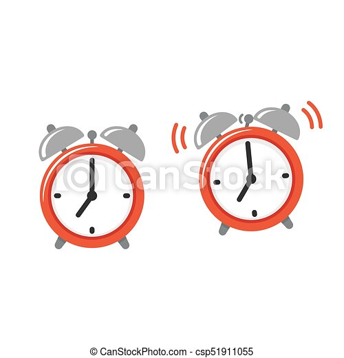 Alarm Clock Icon Or Logo. Retro Style Clock Illustration, Simple.. Royalty  Free Cliparts, Vectors, And Stock Illustration. Image 87049661.