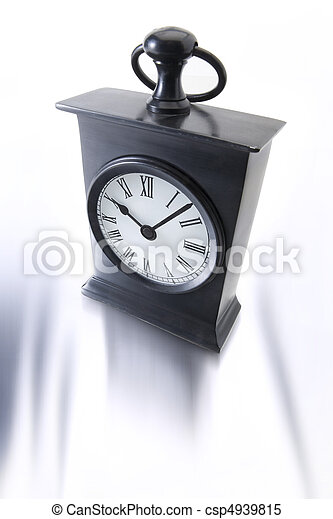 Alarm clock on white background - csp4939815