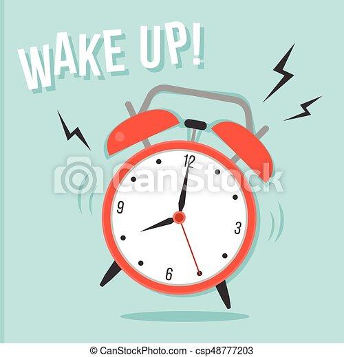 Disegno Sveglia Che Suona.Alarm Clock