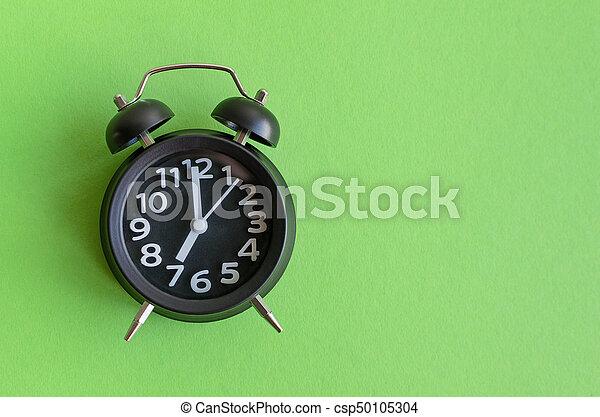 Alarm clock with seven o'clock - csp50105304