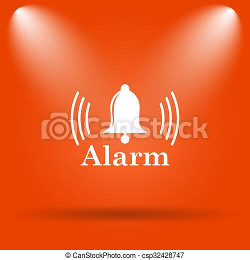 Alarm icon - csp32428747