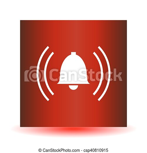alarm icon - csp40810915