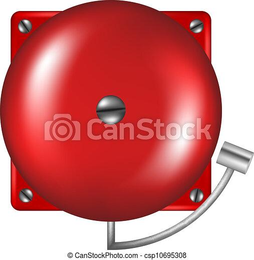 Alarm in retro design - csp10695308