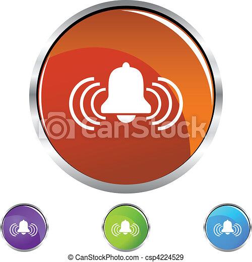 Alerta a la campana - csp4224529