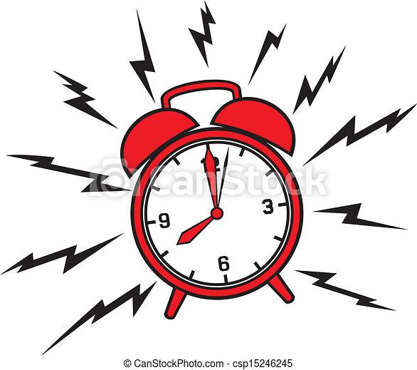 Clásico despertador - csp15246245