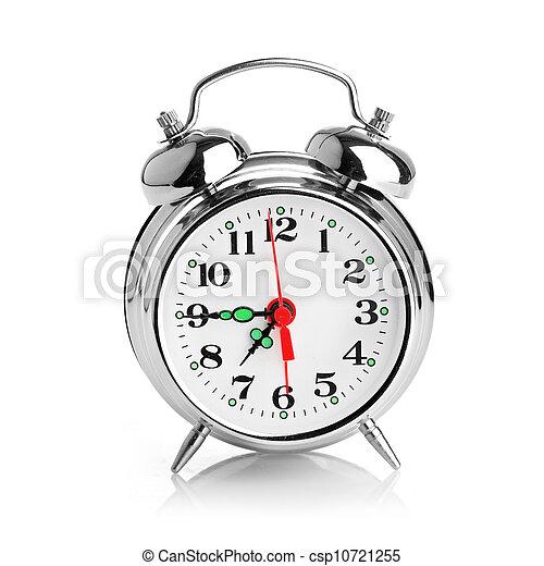 Alarma de fondo blanco - csp10721255