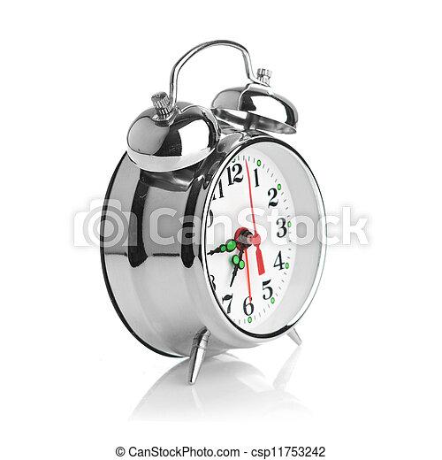 Alarma de fondo blanco - csp11753242