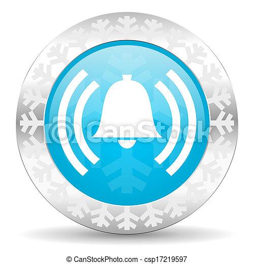 icono de alarma - csp17219597