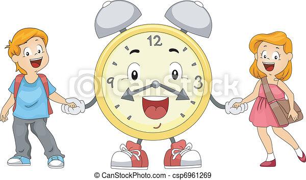 El despertador de los niños - csp6961269