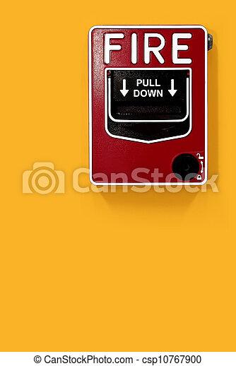 alarme fogo - csp10767900