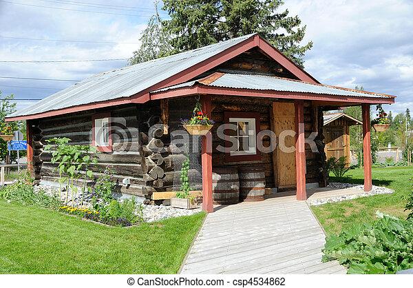 Alaska Cabin - csp4534862