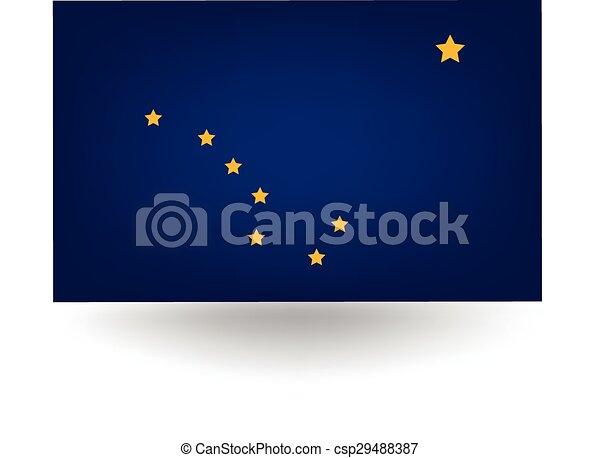 Alaska State Flag - csp29488387