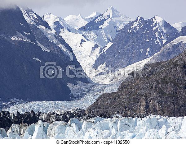 Alaskan Glacier Landscape - csp41132550