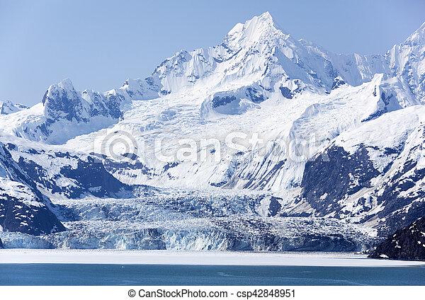 Alaskan Glacier Landscape - csp42848951