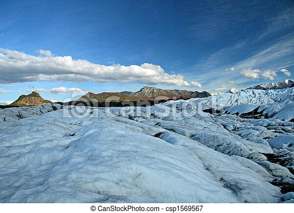 Alaskan Glacier - csp1569567