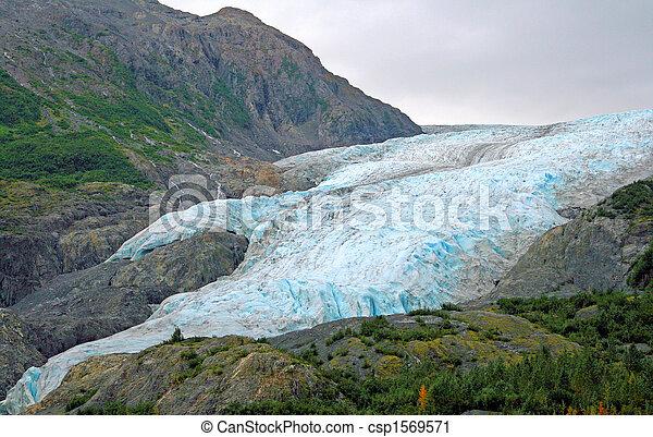 Alaskan Glacier - csp1569571