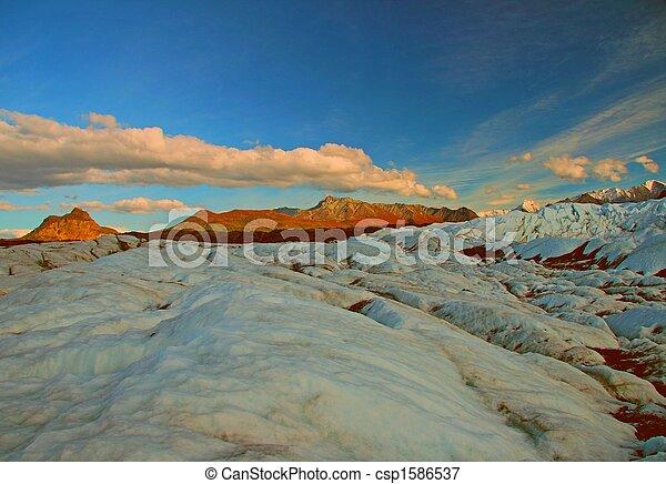 Alaskan Glacier - csp1586537