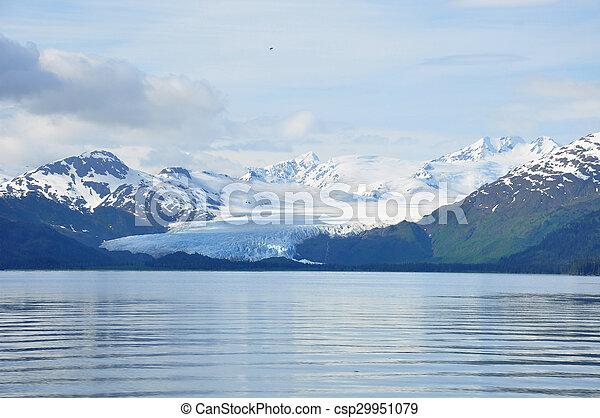 Alaskan Glacier - csp29951079