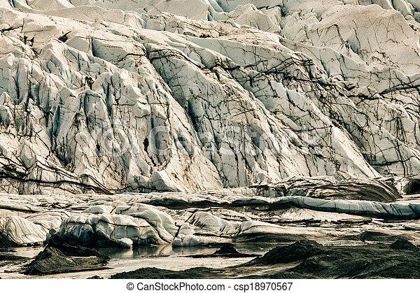 Alaskan Glacier - csp18970567