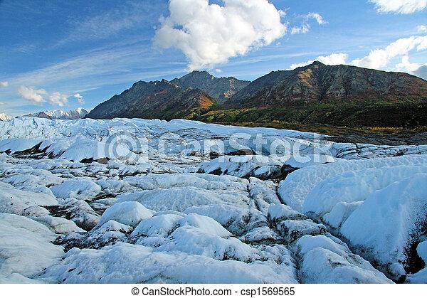 Alaskan Glacier - csp1569565