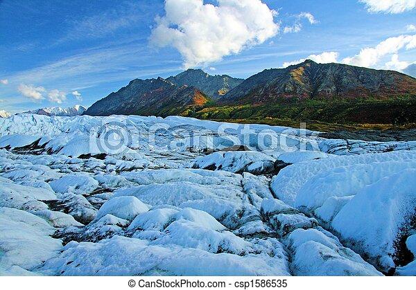 Alaskan Glacier - csp1586535