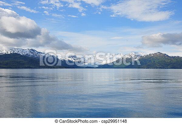 Alaskan Glacier - csp29951148