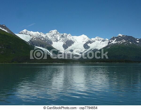 Alaskan Glacier - csp7794654