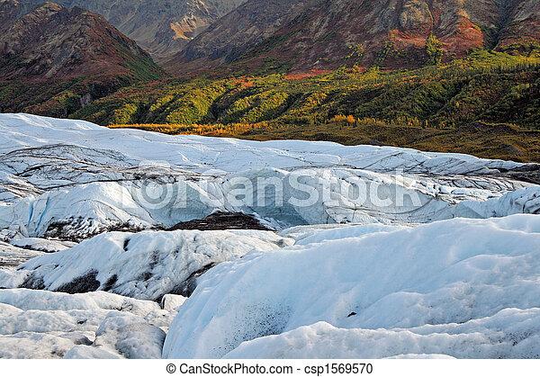 Alaskan Glacier - csp1569570