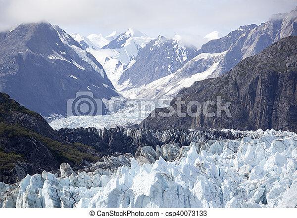 Alaskan Glacier - csp40073133