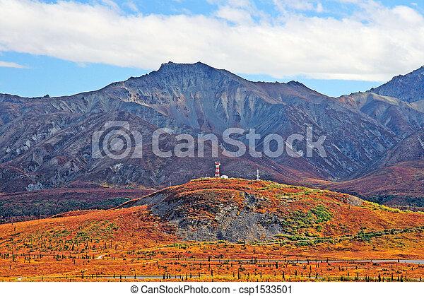 Alaskan Vista - csp1533501