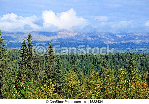 Alaskan Vista - csp1533434