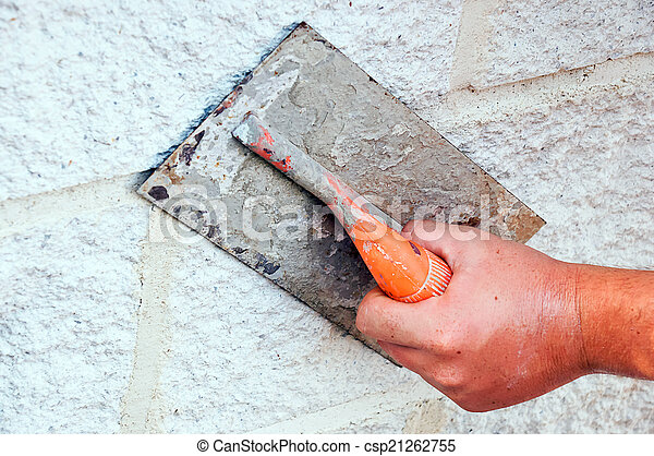 Bricklayer - csp21262755